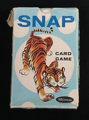 Vintage Children's Card Game 'SNAP' - complete set and very good condition