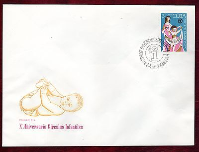 CARIBBEAN STAMPS- 10th Anniversary of Infant centres ,FDC 1971