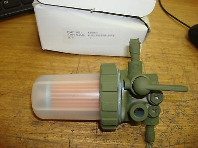 Yanmar Tractor Fuel Filter Valve Assembly C01001 New Old Stock Free Shipping!!