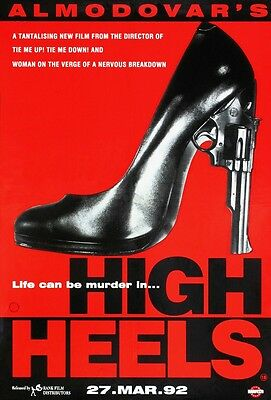 High Heels movie poster print : 11 x 17 inches - Pedro Almodovar