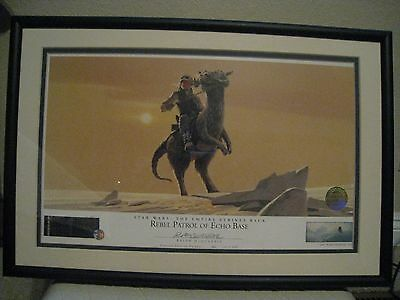 Rebel Patrol of Echo Base #146 signed by Ralph McQuarrie  Lithograph