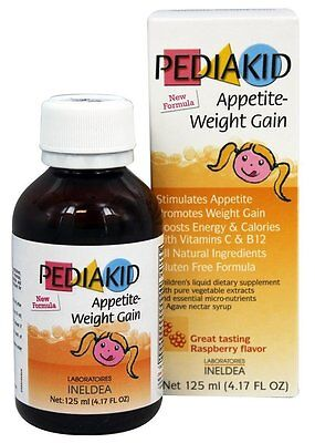 Pediakid Appetite-Weight Gain, a Natural Appetite and Weight Gain Stimulant for
