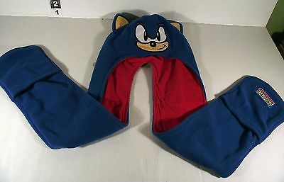 Sonic The Hedgehog Child Size All In One Hat Scarf Mittens
