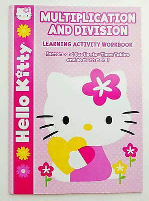 Hello Kitty Multiplication and Division Learning Activity Workbook
