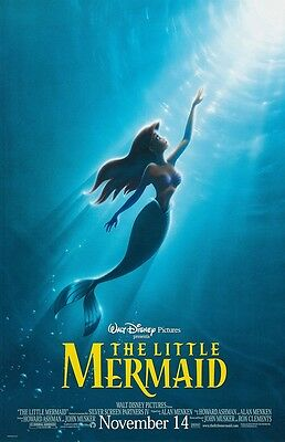 Walt Disney's The Little Mermaid movie poster (a) : 11 x 17 inches