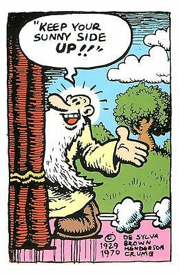R. Crumb Mr. Natural Keep Your Sunny Side Up Postcard