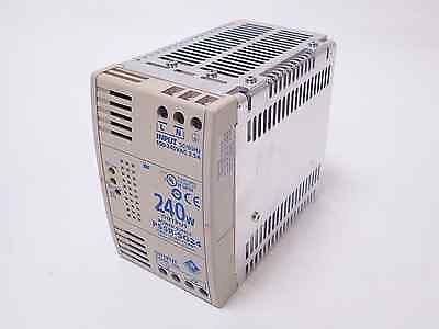 Idec Izumi Ps5R-Sg24 Din Rail 240W Switching Power Supply, 24Vdc 10A