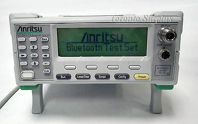 ANRITSU MT8852A BLUETOOTH TEST SET with OPTIONS 15 & 16 INCLUDED