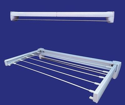 Wall mounted Retractable Clothes Drying Rack