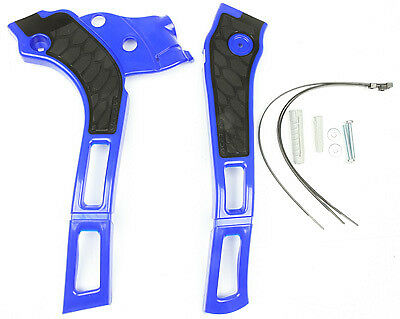Acerbis X-Grip Frame Guards Blue/Black YAMAHA YZ125 2005-2016,YZ250 2464741034