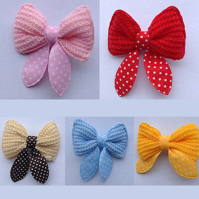 2Pcs Hot Pet Hair Clips Cute Bowknot Dog Hair Bows Clipper Grooming Accessories