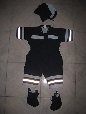 H&m Kids Baby Ski Overall Suit With Hood Boots