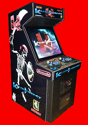 Mini Killer Instinct Arcade Cabinet Collectible Display