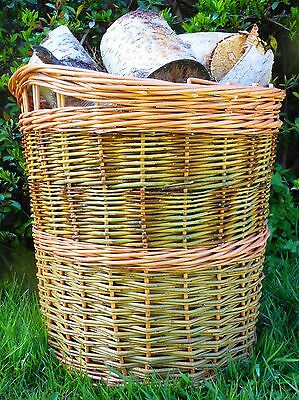 Make this Willow Log Basket: a weaving kit for beginners.