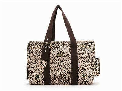 Small Dog Pet Carrier Bag Tote Handbag Leopard Print Chihuahua Yorkie Puppy