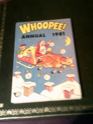 Whoopee  Annual 1981, UK Annual, Vintage Book Published in 1980