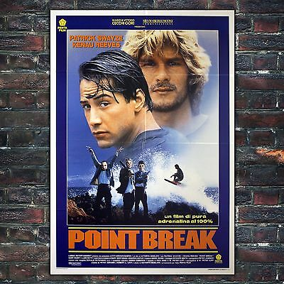 Original Film Poster Point Break - 100x140 CM - Patrick Swayze, Keanu Reeves