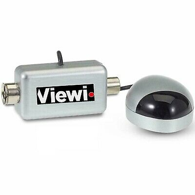 Silver Global Mini Magic Eye TV Link For Sky + plus HD Brand New Coax Fitting