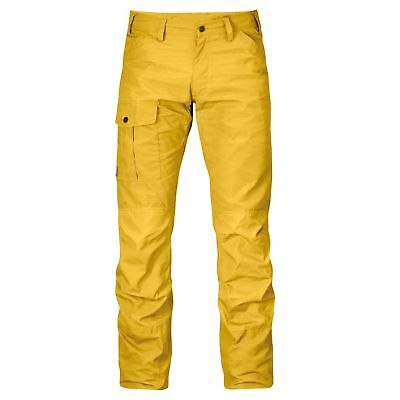 Fjäll Räven Nil Regular Trousers Hose Ochre Outdoorhose Angelhose