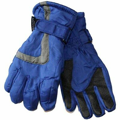 Kids Boys Ski Thinsulate Thermal Lining Warm Winter Thermal Snow Gloves GL109