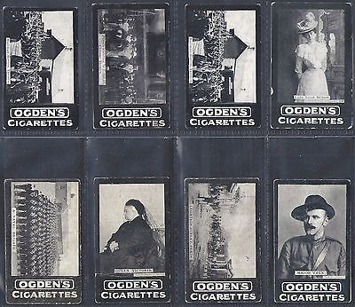 8 x VARIOUS OGDENS TABS - LOT 16 OF 23
