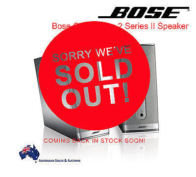 Brand New BOSE Companion 2 Series II Multimedia Computer Speakers System