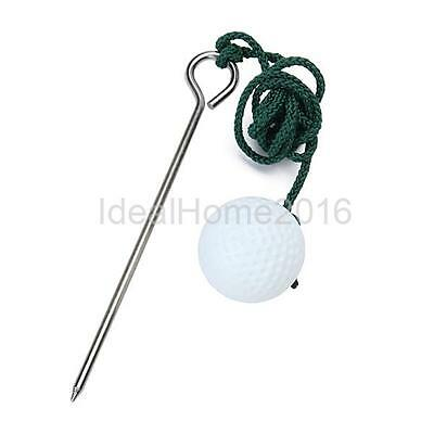 Golf Club Driving Range Ball Rope Swing Hit Practice Training Aid Sport Tool
