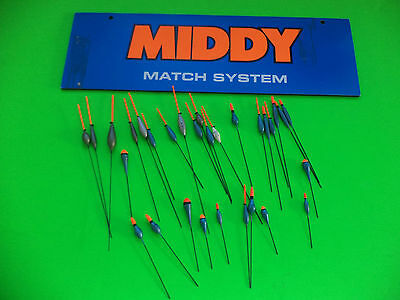 30 New Mixed Quality Middy Pole Fishing Floats