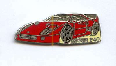 rare pin auto car automobile FERRARI F 40 F40