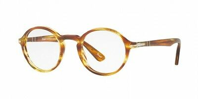 Persol PO3141V STRIPED BROWN YELLOW (1050)  (48 mm)
