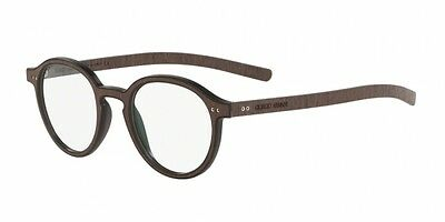 Giorgio Armani AR7114 MATTE BLACK/WOOD WENGE' (5526)  (46mm)