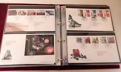 Royal Mail GB First Day Cover Stamp Collection In Album 66 Covers 1999 - 2003