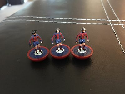 Subbuteo Ref 385 Aldershot/Crystal Palace. Lightweight Spare Players X 3.