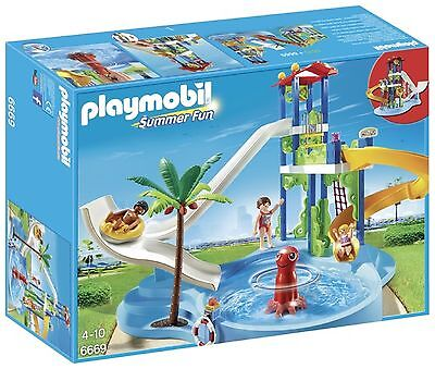 Playmobil Water Park with Slides. From the Official Argos Shop on ebay