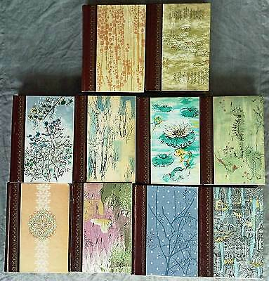Lot of 10 Reader's Digest Condensed Books 1960s Pattern Cover Decorative Craft