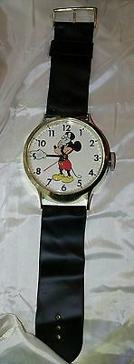 Vintage Mickey Mouse Wrist Watch Wall Clock: Disney, Welby & Elgin Electric