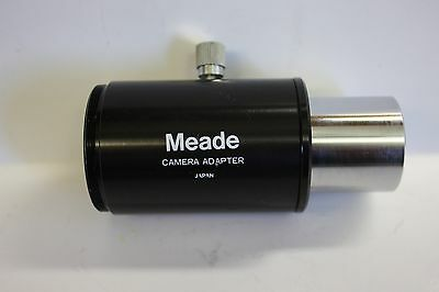 "Meade 07356 1.25"" Telescope Basic Camera Adapter with T thread -  Made in Japan"