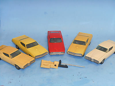 Lot of 5 P&G Go Cars
