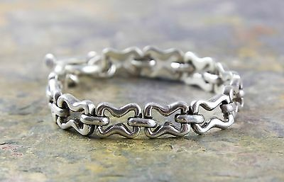 Mexico 925 Sterling Silver TR-70 Link Chain Bracelet