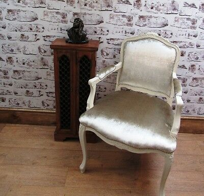 Antique Chic French Louis XV Style Chair c.1880