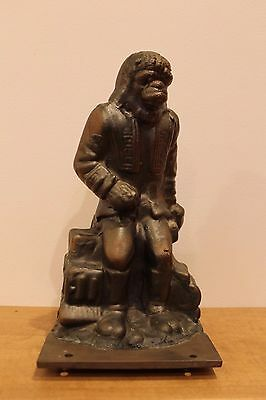 Vintage 1967 Planet Of The Apes Dr Zaius Apjac Production Factory Mold Bank Rare