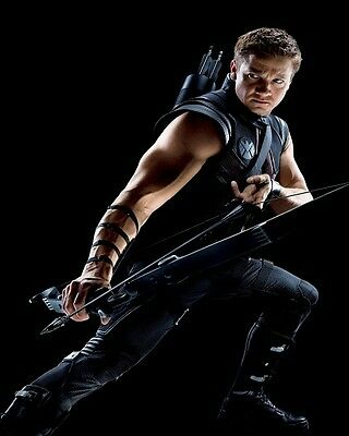 Jeremy Renner movie photo print - The Avengers, Hawkeye - 8 x 10 inches