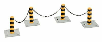 Lionel 6-22580 O Bollards & Chains Pack