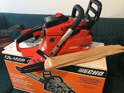 ECHO 20 in. 45 cc Gas Hand Handle Chainsaw Power Equipment Antivibration Outdoor