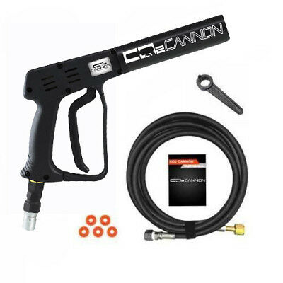 MADE IN THE USA - Mini Co2 Cannon CO2 handheld Club Effect - C02 Cryo - 8' Hose