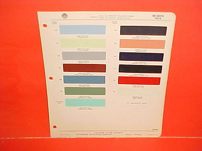 1955 Desoto Firedome Fireflite Convertible Special Sportsman Coupe Paint Chips