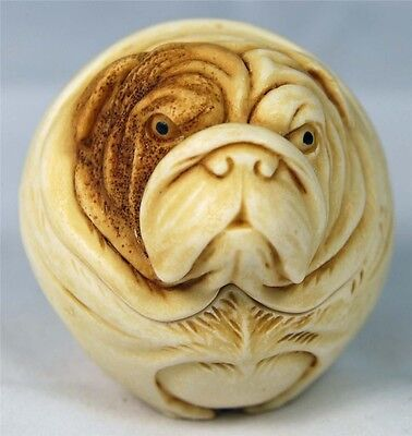 Mib Harmony Kingdom Roly Poly Winston The English Bulldog Adam Binder Tjrpho2