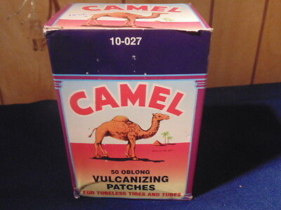 Vintage Camel Vulcanizing Patches,box Of 50.