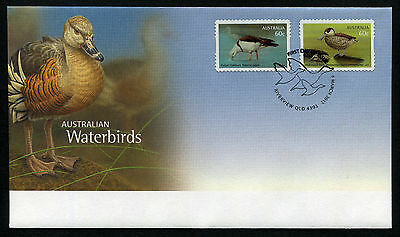 2012 Waterbirds S/A FDC First Day Cover Stamps Australia