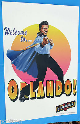 POSTER Star Wars Celebration V - LANDO CALRISSIAN Randy Martinez artwork 2010